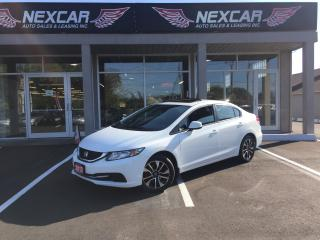 Used 2013 Honda Civic EX AUTO A/C BACK UP CAMERA SUNROOF 101K for sale in North York, ON