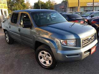 Used 2007 Honda Ridgeline LX/AUTO/LEATHER/ALLOYS/DVDS/4WD for sale in Scarborough, ON