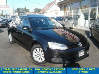 Used 2014 Volkswagen Jetta 2.0L Comfortline Alloys/Sunroof/Htd Seats &GPS* for sale in Mississauga, ON