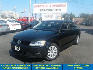Used 2014 Volkswagen Jetta 2.0L Trendline 5spd All Power Options &GPS* for sale in Mississauga, ON
