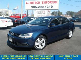Used 2013 Volkswagen Jetta 2.5L Comfortline Sunroof/Alloys/Htd Seats &GPS* for sale in Mississauga, ON