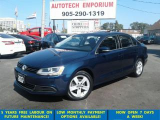 Used 2013 Volkswagen Jetta Comfortline Sunroof/Alloys/Htd Seats &GPS*$49/wkly for sale in Mississauga, ON