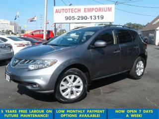 Used 2014 Nissan Murano SL AWD Leather/Pano Roof/Camera &GPS* for sale in Mississauga, ON