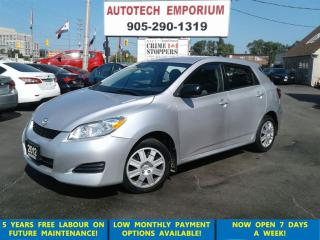 Used 2012 Toyota Matrix Auto Air All Power Options&GPS*$39/Wkly for sale in Mississauga, ON