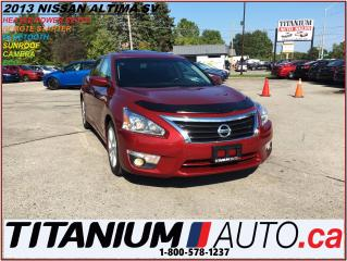 Used 2013 Nissan Altima 2.5 SV+Camera+Sunroof+Remote Starter+Fog Lights+XM for sale in London, ON