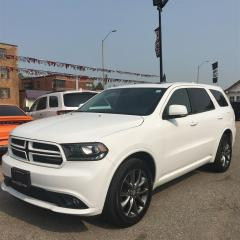Used 2017 Dodge Durango GT**REAR SCREENS**NAV**ROOF** for sale in Mississauga, ON