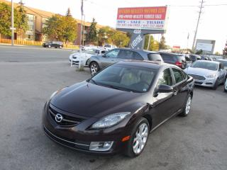 Used 2009 Mazda MAZDA6 GT, PUSH BUTTON START, LEATHER, SUNROOF for sale in Scarborough, ON