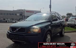 Used 2004 Volvo XC90 AWD |No Accidents|AS-IS Supersaver| for sale in Scarborough, ON