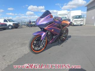 Used 2015 Yamaha YZF R3F R320  SPORT MOTORCYCLE for sale in Calgary, AB