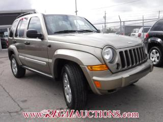 Used 2007 Jeep Liberty Sport 4D Utility 4WD for sale in Calgary, AB