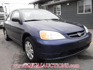 Used 2002 Honda Civic LX 2D Coupe for sale in Calgary, AB