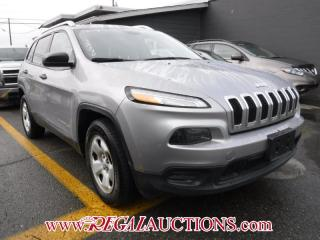 Used 2014 Jeep CHEROKEE SPORT 4D UTILITY 4WD for sale in Calgary, AB
