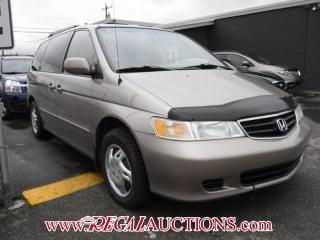 Used 2003 Honda ODYSSEY EX WAGON for sale in Calgary, AB