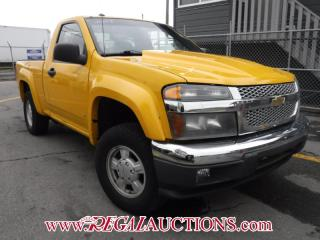Used 2007 Chevrolet COLORADO  REG CAB 4WD for sale in Calgary, AB