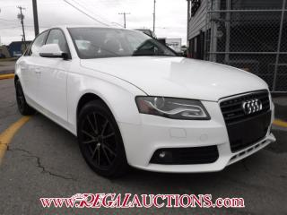 Used 2009 Audi A4  4D SEDAN QTRO 2.0T for sale in Calgary, AB