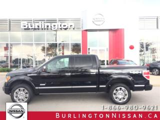 Used 2011 Ford F-150 Platinum, NAVI, PWR. BOARDS, 1 OWNER for sale in Burlington, ON