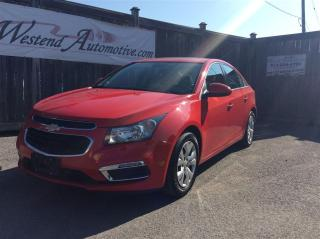 Used 2015 Chevrolet Cruze 1LT  6 speed , sunroof for sale in Stittsville, ON
