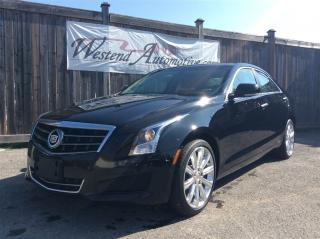 Used 2014 Cadillac ATS Luxury AWD for sale in Stittsville, ON