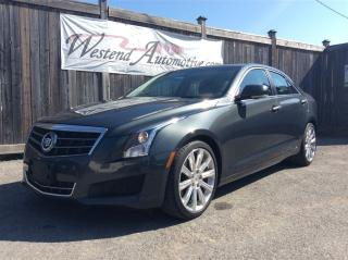 Used 2014 Cadillac ATS Luxury RWD for sale in Stittsville, ON