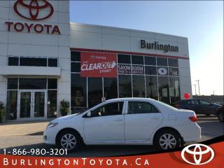 Used 2010 Toyota Corolla CE for sale in Burlington, ON
