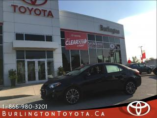 Used 2014 Toyota Corolla SPORT LOADED for sale in Burlington, ON