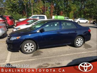 Used 2011 Toyota Corolla CE LOW LOW KM'S for sale in Burlington, ON