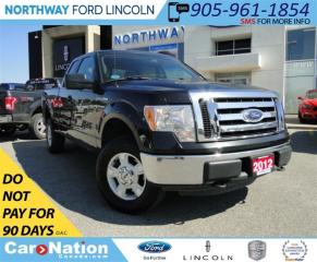 Used 2012 Ford F-150 XLT | SUPER CAB | SAT RADIO | BLUETOOTH | for sale in Brantford, ON