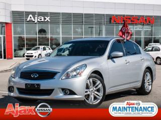 Used 2013 Infiniti G37 X Luxury*AWD*Leather*Heated Seats for sale in Ajax, ON
