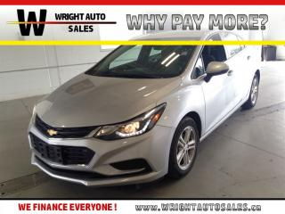 Used 2017 Chevrolet Cruze LT BACKUP CAMERA CRUISE 37,513 KMS for sale in Cambridge, ON