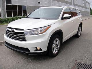Used 2014 Toyota Highlander Limited,NAVI,LEATHER,CAMERA for sale in Aurora, ON