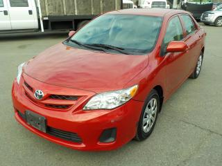 Used 2012 Toyota Corolla AUTOMATIC for sale in Burnaby, BC
