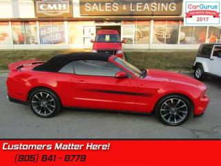 Used 2012 Ford Mustang GT  CALIFORNIA SPECIAL, LEATHER, MANUAL, 410HP for sale in St Catharines, ON