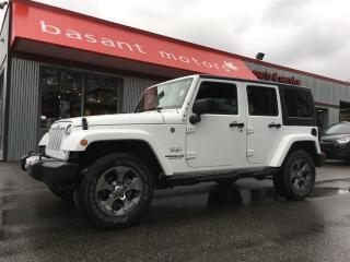Used 2016 Jeep Wrangler Unlimited Sahara, Nav, Running Boards!! for sale in Surrey, BC