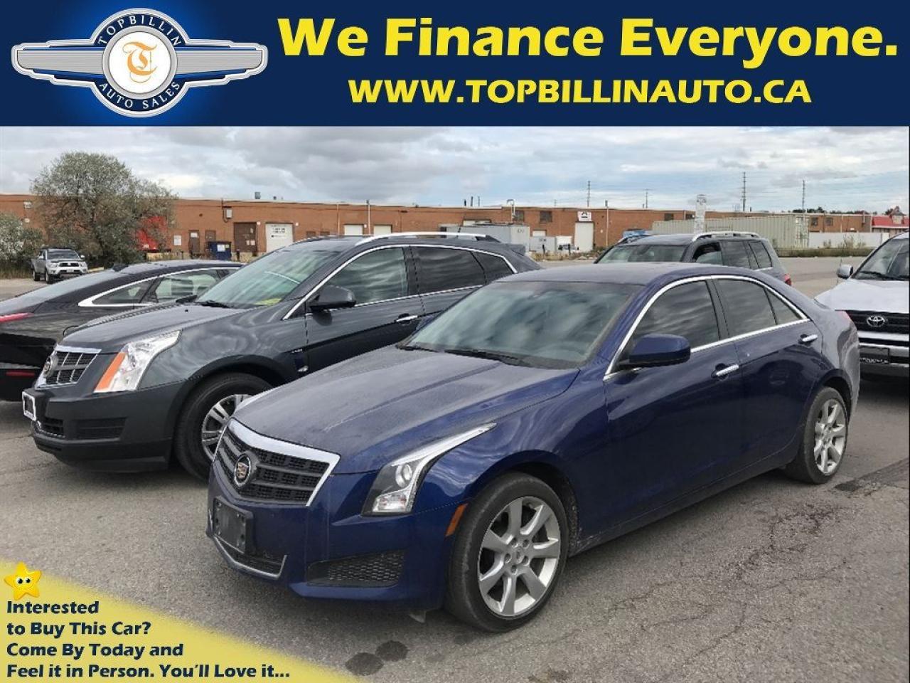 2014 Cadillac ATS 2.0L Turbo AWD, SUNROOF