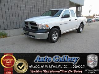 Used 2012 Dodge Ram 1500 ST 4x4 *HEMI for sale in Winnipeg, MB