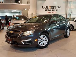 Used 2015 Chevrolet Cruze LT-AUTO-REAR CAM-BLUETOOTH-ONLY 18KM for sale in York, ON