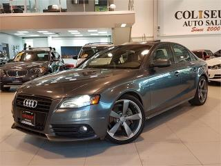Used 2011 Audi A4 2.0T S LINE-QUATTRO-AUTO-NO ACCIDENT for sale in York, ON