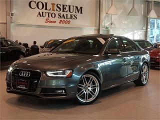 Used 2014 Audi A4 TECHNIK-S LINE-NAVIGATION-CAM-ONLY 56KM for sale in York, ON