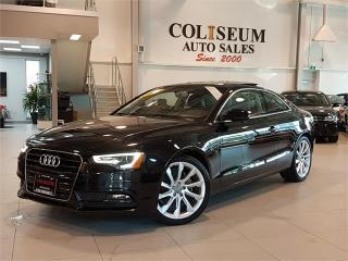 Used 2014 Audi A5 2.0 KOMFORT-QUATTRO-ONLY 44KM for sale in York, ON
