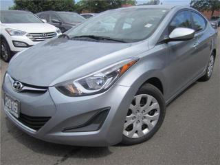 Used 2015 Hyundai Elantra GL-AUTO-BLUETOOTH-HEATED SEATS-ONLY 61KM for sale in York, ON