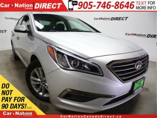 Used 2017 Hyundai Sonata GLS| SUNROOF| BLIND SPOT DETECTION| for sale in Burlington, ON