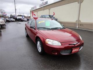 Used 2002 Chrysler Sebring LX for sale in Breslau, ON