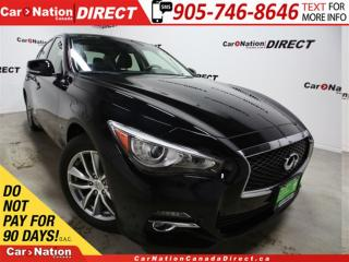 Used 2014 Infiniti Q50 Sport| AWD| NAVI| SUNROOF| LEATHER| for sale in Burlington, ON