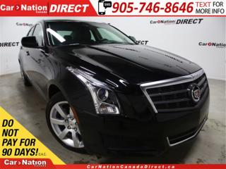 Used 2013 Cadillac ATS 2.5L| LOW KM'S| LEATHER| PUSH START| for sale in Burlington, ON