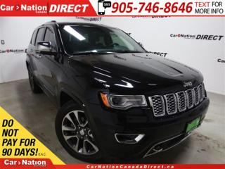 Used 2017 Jeep Grand Cherokee Overland| LOW KM'S| PANO ROOF| NAVI| for sale in Burlington, ON