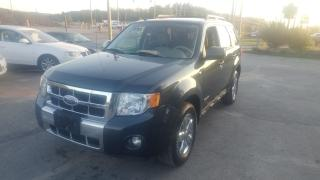Used 2008 Ford Escape Limited for sale in Barrie, ON