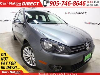 Used 2014 Volkswagen Golf 2.5L Comfortline| LEATHER| PANO ROOF| PUSH START| for sale in Burlington, ON