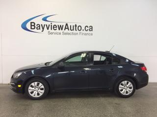 Used 2016 Chevrolet Cruze - 6 SPEED! 1.8L! 4200 KM! ON STAR! for sale in Belleville, ON