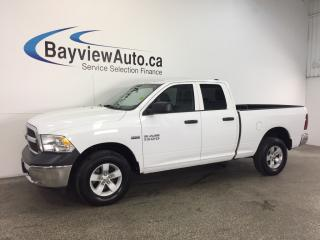 Used 2016 Dodge Ram 1500 ST- HEMI|QUAD|ALLOYS|HITCH|A/C|TOW/HAUL|CRUISE! for sale in Belleville, ON