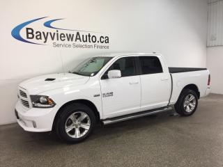 Used 2016 Dodge Ram 1500 SPORT- HEMI! TONNEAU COVER! REV CAM! UCONNECT! for sale in Belleville, ON